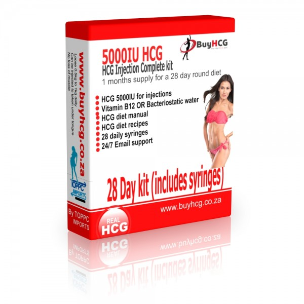 Hcg Diet Complete Kit 1 Month Supply